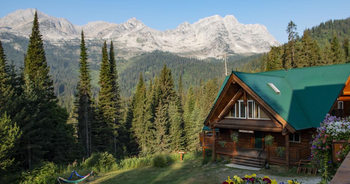 Red Eagle Lodge At Island Lake Lodge In Fernie, B C